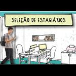 foto de um jovem estudante sobre um desenho de escritório