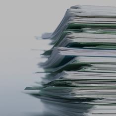 Imagem de uma pilha de processos